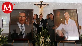 PAN realiza misa en honor a Martha Erika y Moreno Valle