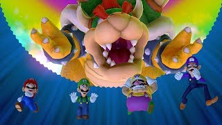 Mario Party 10 - Bowser Party - Mushroom Park (Team Bowser)