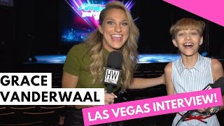 Exclusive! grace vanderwaal talks new album + awkward fan encounter!