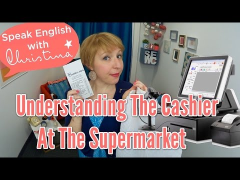 Understanding The Cashier At Supermarket