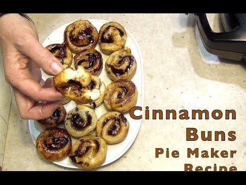 Cinnamon Buns In A Pie Maker Cheekyricho Cooking Video Recipe Ep.1,272