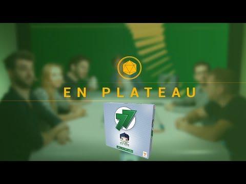 """Le jeu de DOCSEVEN """"77"""" - En Plateau 14/12"""