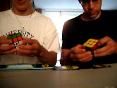 Matt Walter and Joel van Noort racing