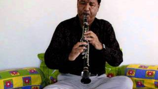 Bhajan on Clarinet - Ustad Mubarak of Japla Jharkhand India