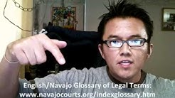 """Navajo Word of the Day: """"Navajo Treaty"""""""