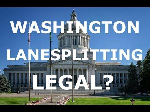 Lane Splitting Bill in Washington State!