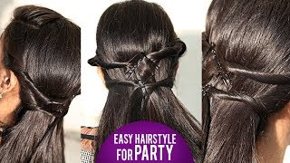 Party Hairstyle & Out Going Hairstyle  | Latest Hair Styles 2018