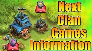 """Resource Raids"" : Next Clan Games Information 