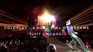 samsung gear vr coldplay ahfod unframed in 360° live 2017 from chicago