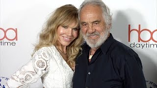 Tommy Chong and Shelby Chong 2018 Daytime Hollywood Beauty Awards Red Carpet