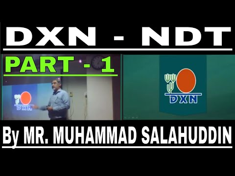 PART 1 - DXN NEW DISTRIBUTOR TRAINING (HINDI/URDU) By MR MUH