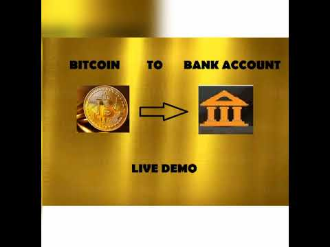 How To Convert BItcoin To Cash/ Bank Account /live Demo/2019