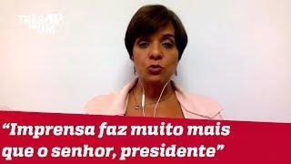 #VeraMagalhães: Imprensa faz mais pela reforma da Previdência do que Jair Bolsonaro