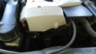 W210 e200 m111 engine noise