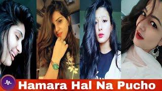 Hamara Hal Na Pucho Best Musically Girl Videos  | Musically India Compilation.
