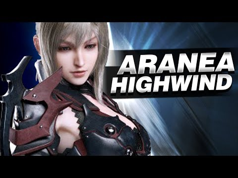 Aerial combat with Aranea Highwind - Final Fantasy XV
