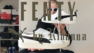 Puma x Rihanna Mens Creeper Unboxing w/ on feet