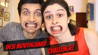 Video Desi Mouthguard Challenge! download MP3, 3GP, MP4, WEBM, AVI, FLV Agustus 2017