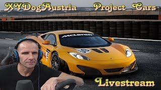 Project Cars ** Racing Audi R8 LMS Ultra ** Livestream Gameplay + Facecam 1080p30