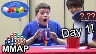 2013 Rubik's Cube World Championship: Day 1! thumbnail