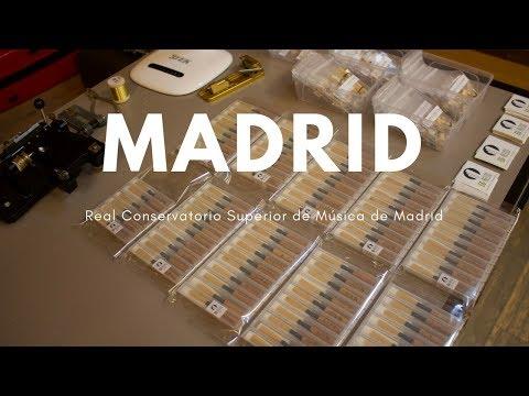 OBOE - Muestra de material EG-REEDS en el Real Conservatorio Superior de Música de Madrid