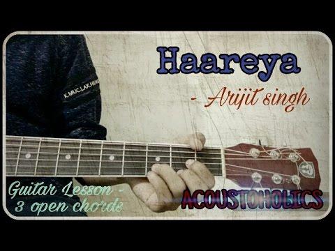 Haareya - Arijit singh| Easy Guitar lesson | Meri Pyaari Bindu | Ayushman khurrana