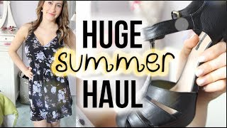 HUGE SUMMER HAUL (feat. Forever21, Brandy Melville, Express, & MORE!) | itsLyndsayRae Thumbnail