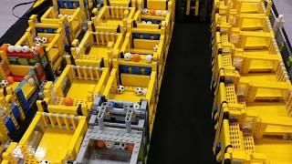New World Record LEGO Great Ball Contraption - GBC circuit at Skaerbaek FanWeekend 2017