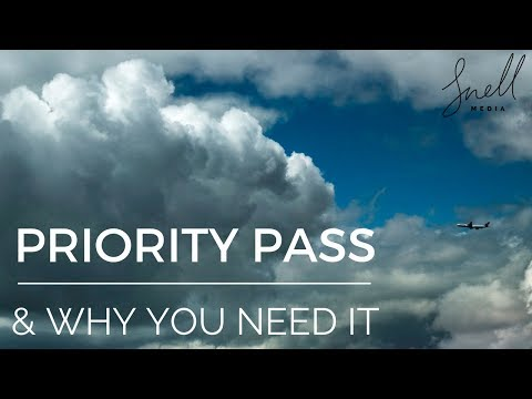 What Is PRIORITY PASS And Why YOU NEED IT