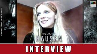 HAUSEN (SKY) - LILITH STANGENBERG ÜBER DIE HORROR-SERIE UND DEN DREH