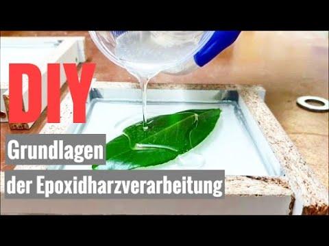 TUTORIAL: Epoxidharz richtig gießen für Anfänger