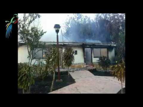 Incendio arrasa con hotel villas kin h en palenque youtube for Villas kin ha palenque incendio