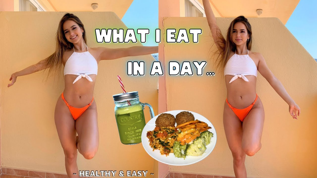 What I Eat In A Day *realistic with easy, healthy meals*