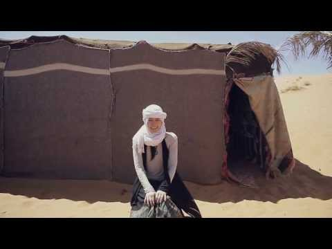 旅する鈴木365:Staying nomad tent in the desert @Morocco