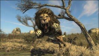 Cabelas Dangerous Hunts - Hunting LioNS! 1080p