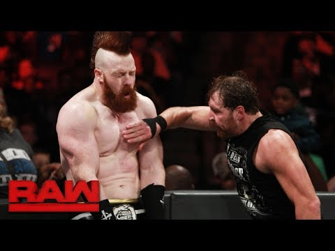 Dean Ambrose vs. Sheamus: Raw, Aug. 28, 2017