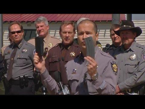 Sheriff Maketa talks at anti-gun law rally