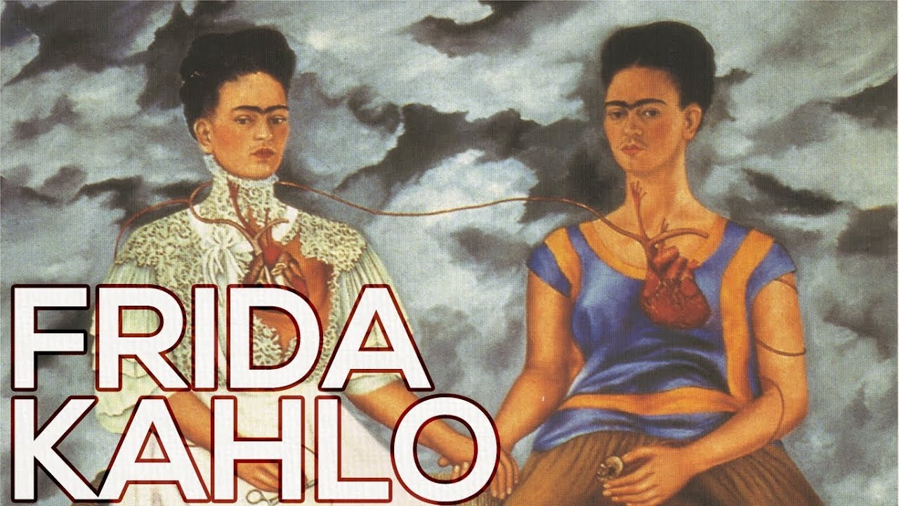 Download Frida Kahlo: A collection of 100 paintings (HD)