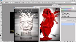 Как вывести две или несколько фотографий в рабочее поле Adobe фотошоп CS 6, CC?