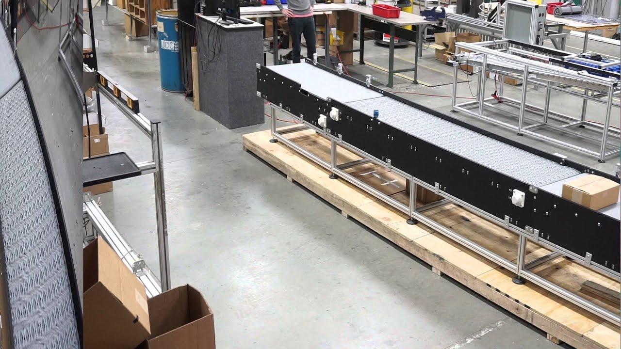 Box Turning Conveyor System Youtube