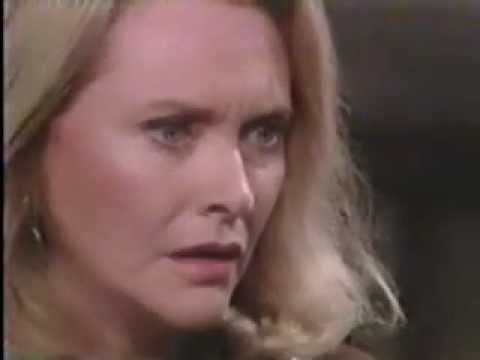 B&B Stephanie Finds Out That Deveney Is Alive (1989)