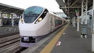 E657系K6編成 土浦駅発車