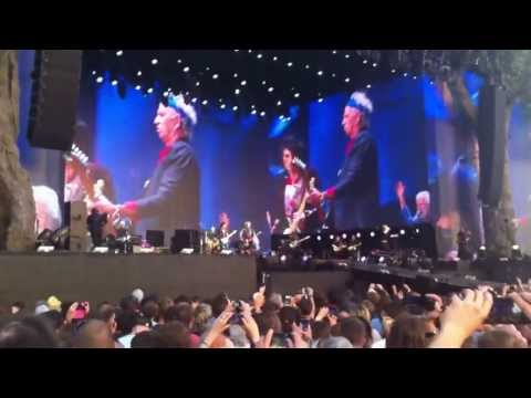 HD The Rolling Stones Tumbling Dice Hyde Park 13.07.2013