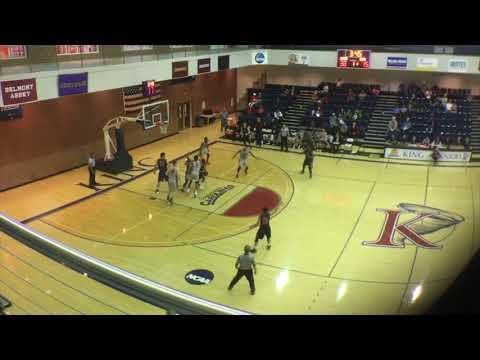 Branford Rogers LenoirRhyne Men's Basketball Reg. Season Highlights