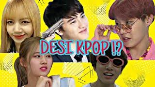 Desi KPOP Crack (BTS,Twice,EXO,Blackpink) Kpop ft bollywood- Multi Kpop - Korean mix