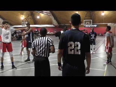 2017-07-16 Roadrunners vs PSA Hoop Group Elite Team Camp Full Game