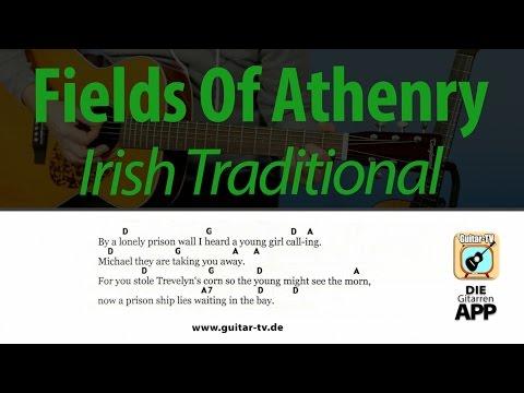 Fields Of Athenry - Irish Traditional, Cover•Lyrics•Chords•Tutorial•Gitarre lernen