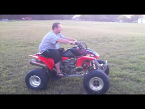 2005 Honda TRX 450r - Review