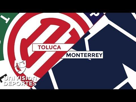 Toluca 2-1 Monterrey - RESUMEN Y GOLES - Clausura 2018 Liga MX