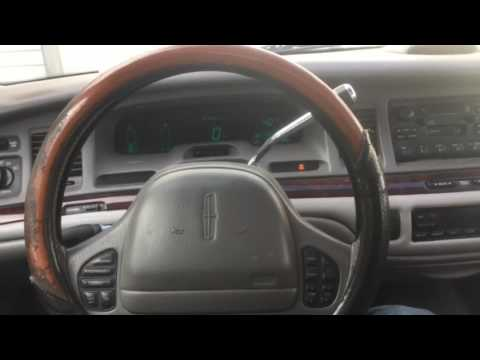 1997 Lincoln Town Car Cartier Youtube